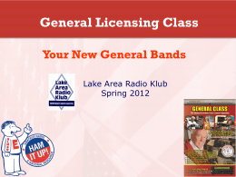 Your New General Bands