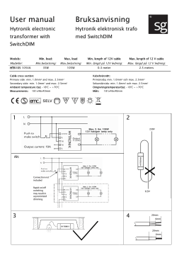 SG HT6105 User manual 111206 page 1
