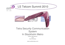 LS Telcom Summit 2010
