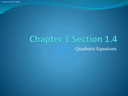 Chapter 1 Section 4