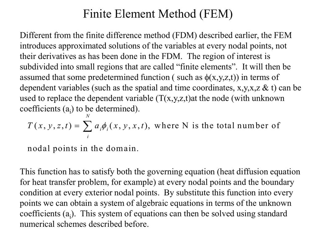 Finite Element Example