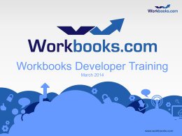 php - Login to Workbooks if you are already a registered user
