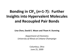 Bonding in ClFn (n=1-7): Further Insights into Hypervalent
