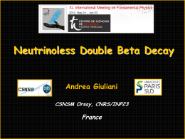 Neutrinoless BetaBeta decay