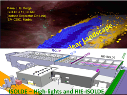 ISOLDE Facility at CERN: highlights and future plans