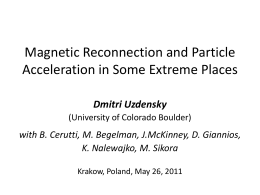 Magnetic Reconnection, Particle Acceleration, and Radiation in