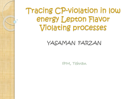 Tracing CP-violation in low energy Lepton Flavor Violating processes