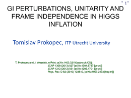 Gauge invariant Cosmological Perturbations, Unitarity and Frame