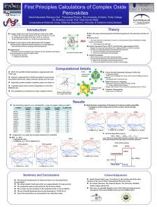 Pt VASP Tutorial - Computational Materials Group