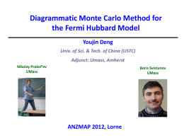 Diagrammatic Monte Carlo simulation of the Fermi