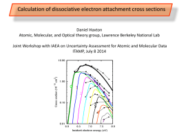 Calculation of dissociative electron attachment cross sections
