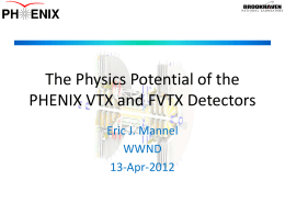 The Physics Potential of the PHENIX Silicon Trackers
