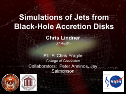 Simulations of Jets from Black