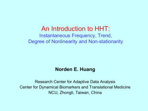 An Introduction to HHT