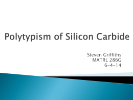 Polytypism of Silicon Carbide