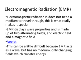 Electromagnetic Radiation (EMR)