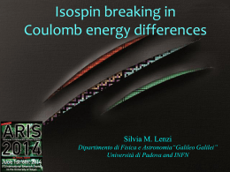 Isospin Symmetry Breaking in Coulomb Energy Differences