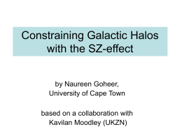 The SZ effect in nearby galaxies