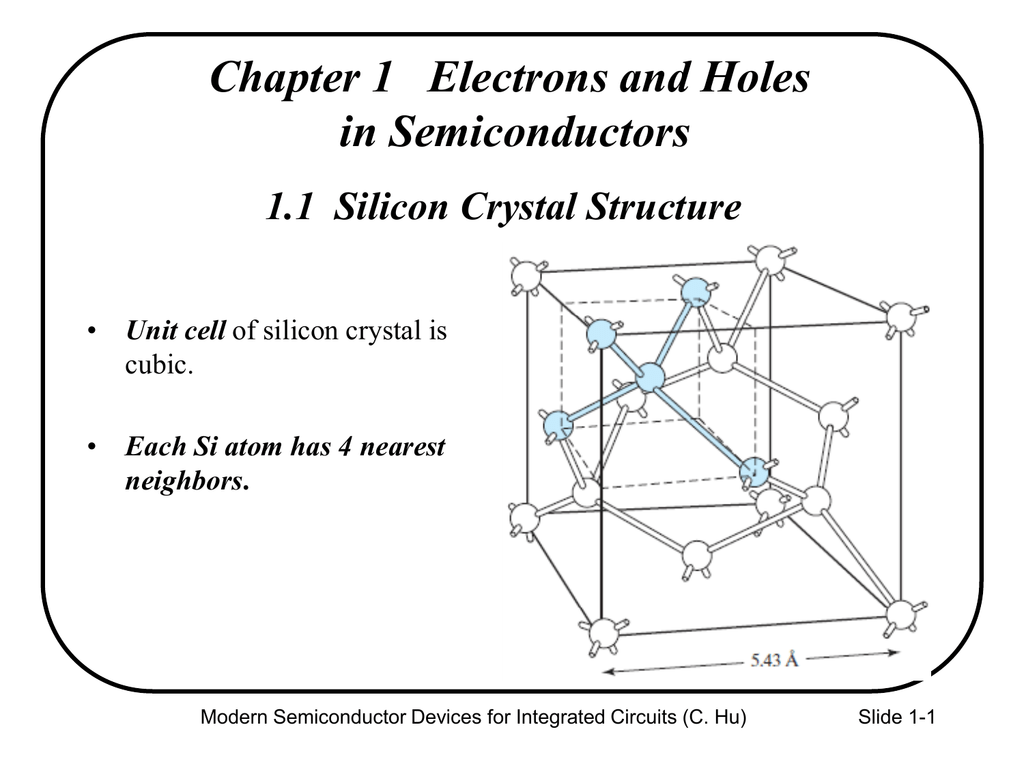 11 Silicon Crystal Structure Integrated Circuits Crystals
