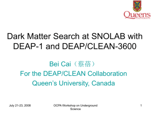 Dark Matter Search at SNOLAB with DEAP-1 and DEAP/CLEAN-3600