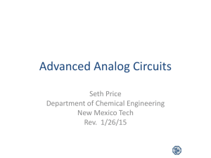 Advanced Analog Circuits