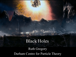 Black Holes : A lecture to 6th Formers