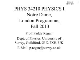 phys34210_13 - University of Surrey