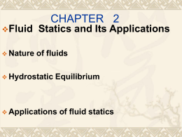 basic equations of fluid statics Introductory fluid mechanics l4 p2 - basic equation of fluid statics - part 1  fluid mechanics - the basic equation of pressure field - duration: 9:08  physics - fluid statics (2 of 10).