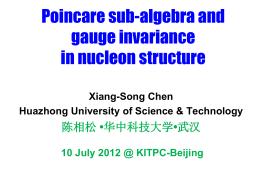 Is gauge-invariance a
