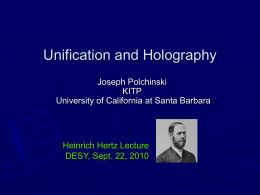 Polchinski-Hertz - Quantum Field Theory: Developments and