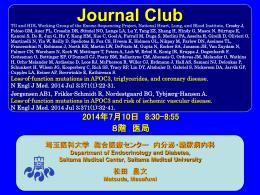 APOC3 - 埼玉医科大学総合医療センター 内分泌・糖尿病内科