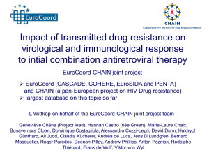 Impact of transmitted drug resistance on virological and