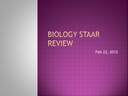 Biology Starr review