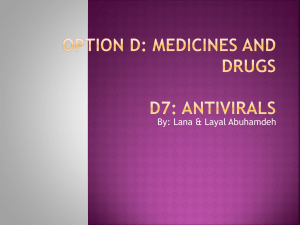 Option D7: Antivirals