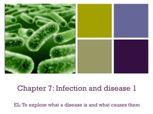 + Pathogens - MCC Year 12 Biology