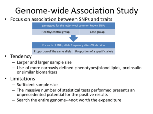 Genome-wide Association Study