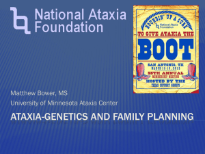Genetics and family planning