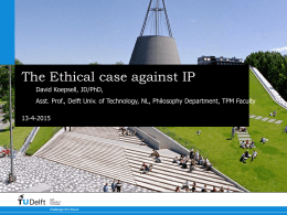 The Ethical Case Against IP