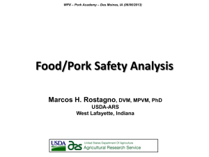 Food Safety Analysis