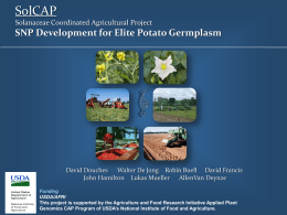 General SolCAP Powerpoint Presentation