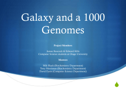 1000 Genomes and GATK