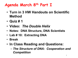 3.8 DNA