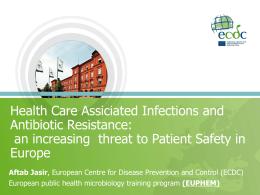 14- HCAI_Antibiotic_resistance_2011 - ECDC