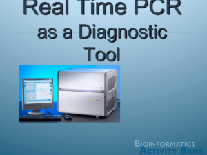 Real Time PCR presentation