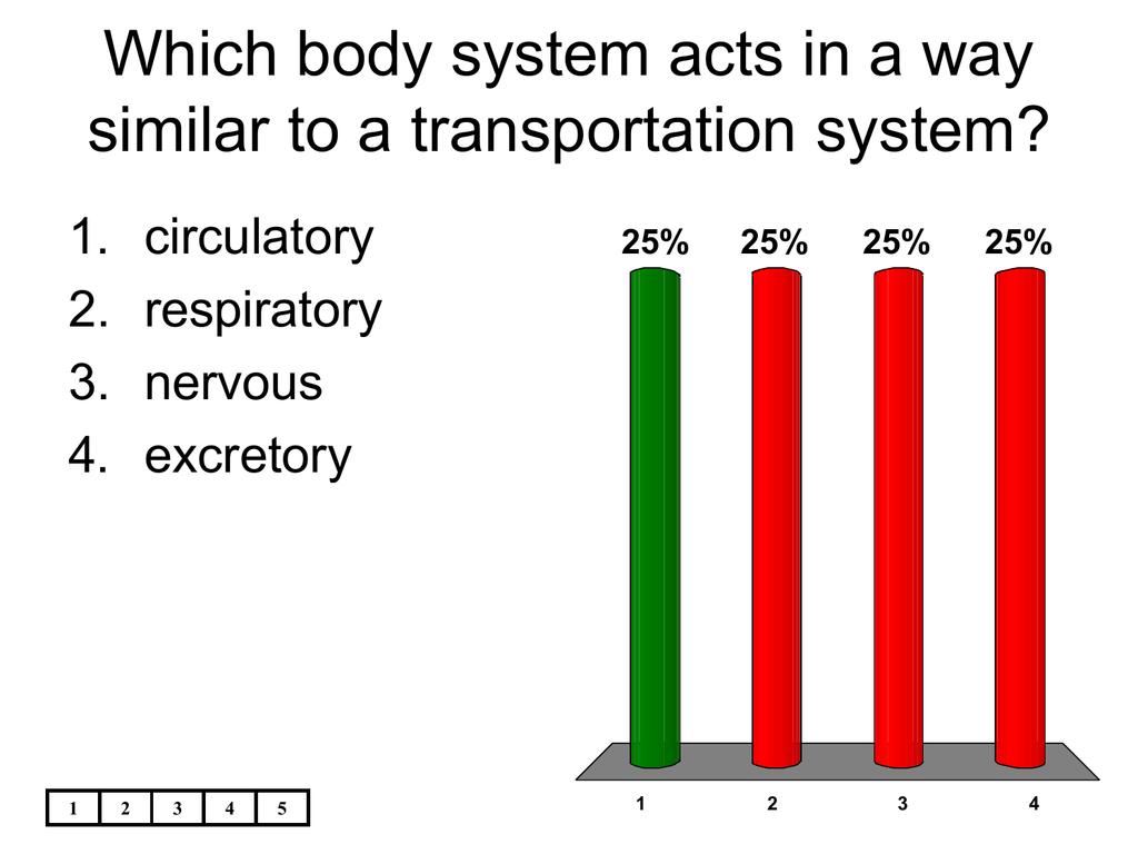 transportation system in human body