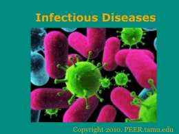 Classification and Interaction of Infectious Diseases