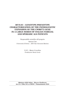 rf10.83 – genotype-phenotype characterization of the pathogenetic