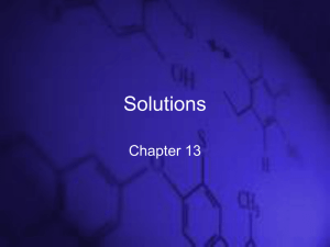 Chapter 13 - Solutions