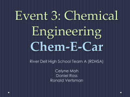 Event 3 PPT 2013 - River Dell Regional School District