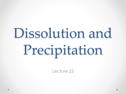 Lecture 23 - Earth and Atmospheric Sciences